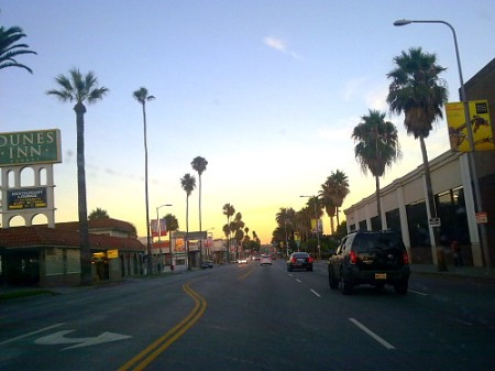 sunset boulevard at sunset