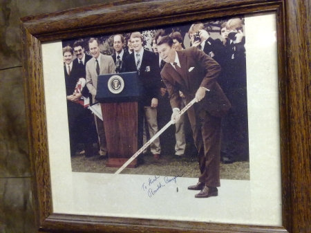 Ronald Reagan signed photo