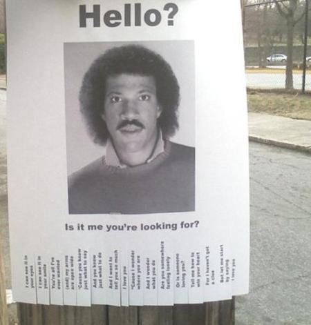 lionel richie spoof