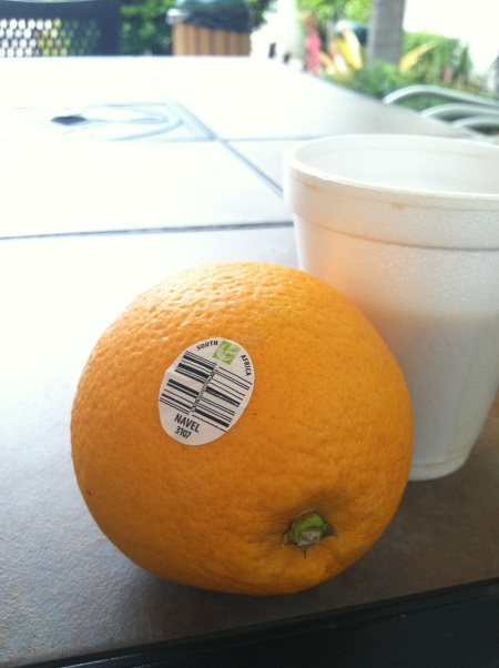 Look where the orange is from.