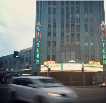 The Wiltern. If I have a film company in the US one day, I want offices here.