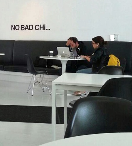 It looks like these guys just realized they broke a rule. Maybe that's not a real Mac?