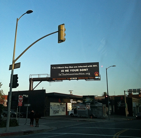 Where there's a new weird billboard every day.